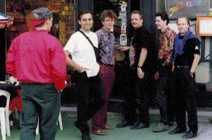 The original Loud Jazz Band, Akwarium Jazz Club in Warsaw - 1993