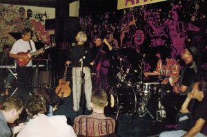 Jamming with Pat Metheny Group at Akwarium Jazz Club in Warsaw - 1993