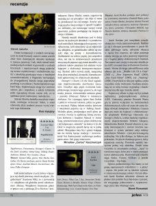 "Jazz Forum 09/2018 - Szymon Trio & Guests ""Togetherness""- article by Mirosław Carlos Kaczmarczyk"