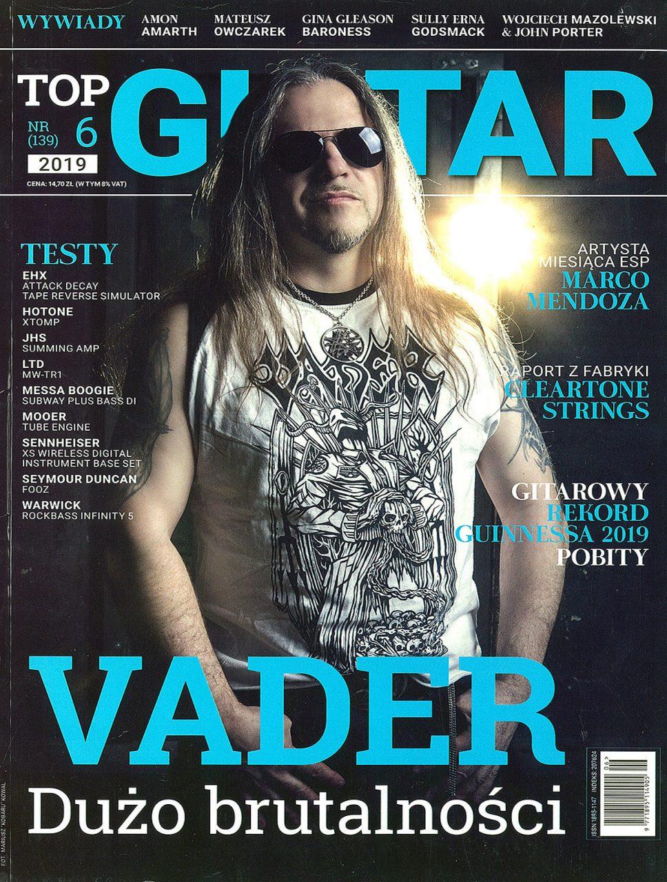 Top Guitar 06/2019 Mirosław 'Carlos' Kaczmarczyk