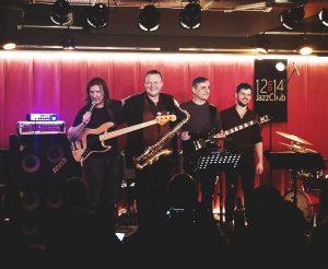 Kciuk Fusion Band- 12on14 Jazz Club - Warszawa 2019