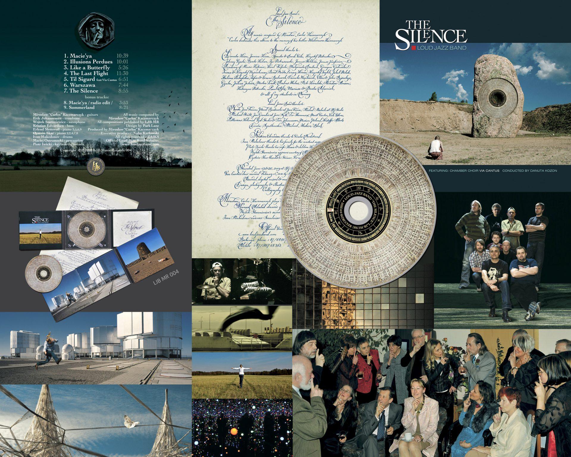 "Loud Jazz Band ""The Silence"" LJB Music Records 004 ℗©2010"