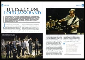 """Czasopismo Muzyk 06/2019 Mirosław """"Carlos"""" Kaczmarczyk - Loud Jazz Band"""