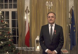 2. Mirosław 'Carlos' Kaczmarczyk - Polish Embassy in Oslo - 2020, photo Grzegorz Szopiński