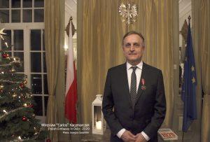 2.Mirosław 'Carlos' Kaczmarczyk - Polish Embassy in Oslo - 2020, photo Grzegorz Szopiński